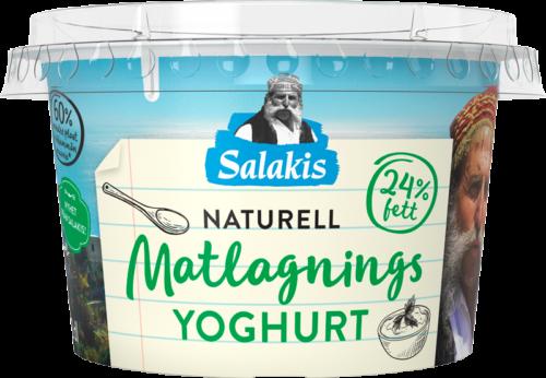Naturell Matlagningsyoghurt 24%